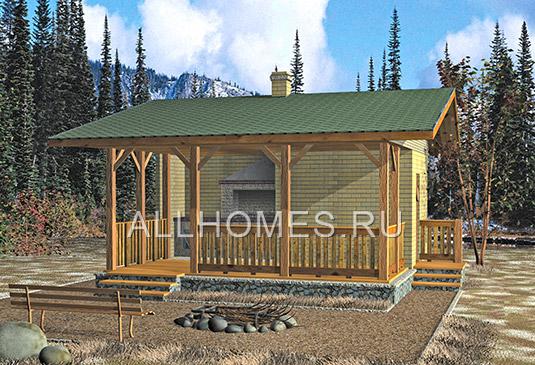 домов и бань, строительство домов из