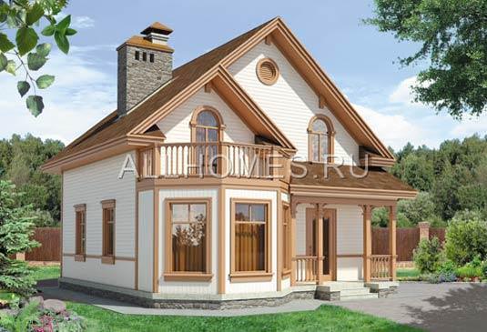 Построенные дома, фото готовых домов и коттеджей