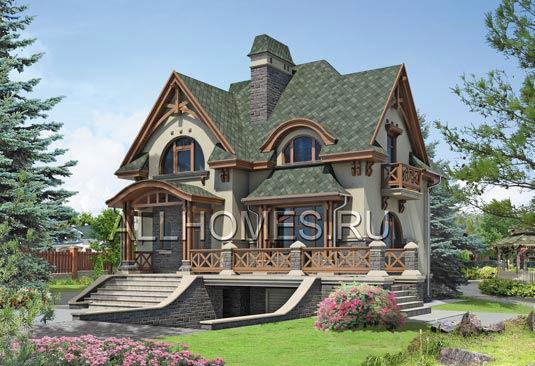 Загородный дом в горах Сьерра, Калифорния, США