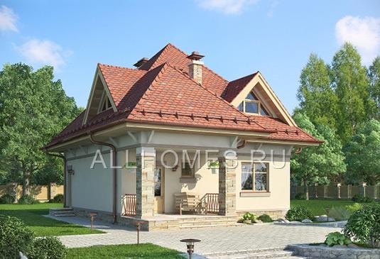 Проекты домов из пеноблоков в Москве
