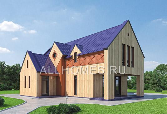 двухэтажного дома из пеноблоков