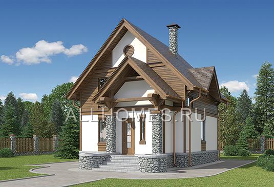 Проекты домов и коттеджей АТРИУМ
